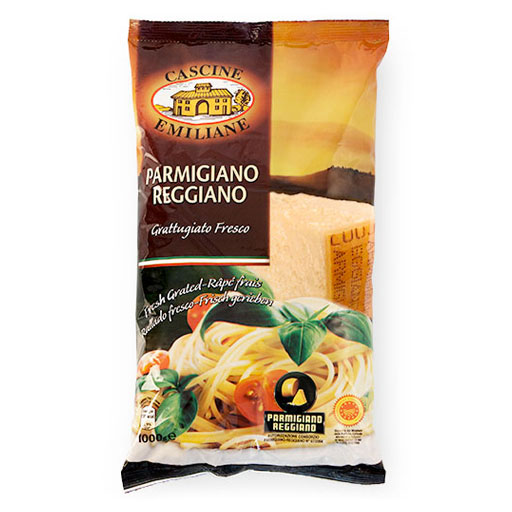 Cascine Emiliane Grated Parmigiano-Reggiano Bag 1Kg