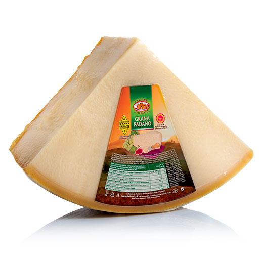 Cascine Emiliane Grana Padano 1/8 Cheese approx. 4 Kg