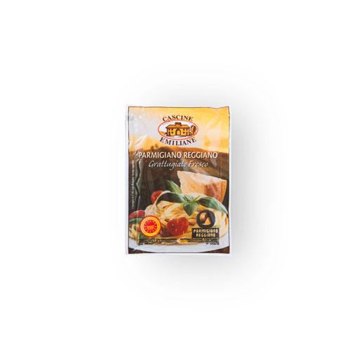 Cascine Emiliane Grated Parmigiano-Reggiano Bag 5/7 g